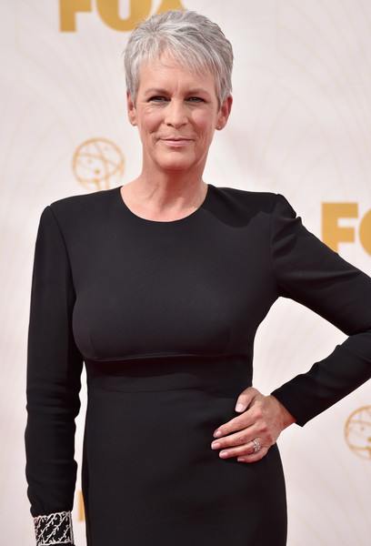 Emmy Awards with Scream Queens' Jamie Lee Curtis, Emma Roberts & Niec...