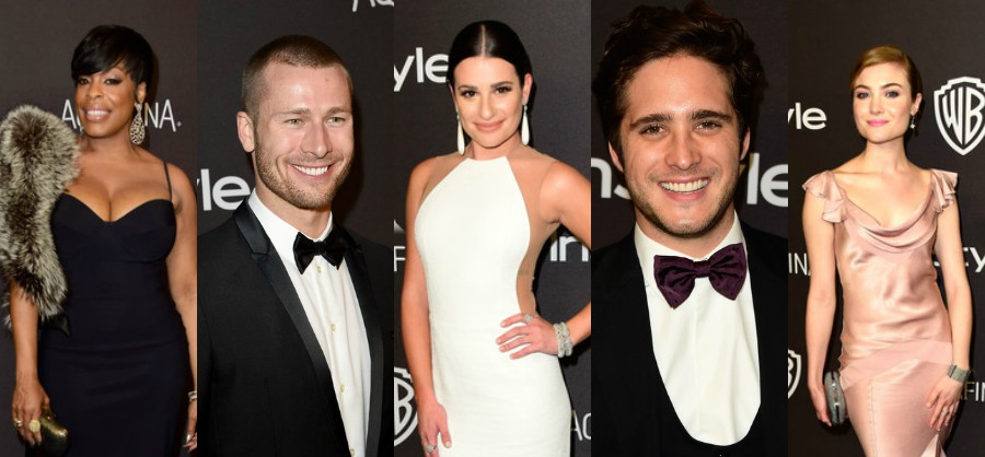 InStyle Golden Globe Awards Party -  Cast