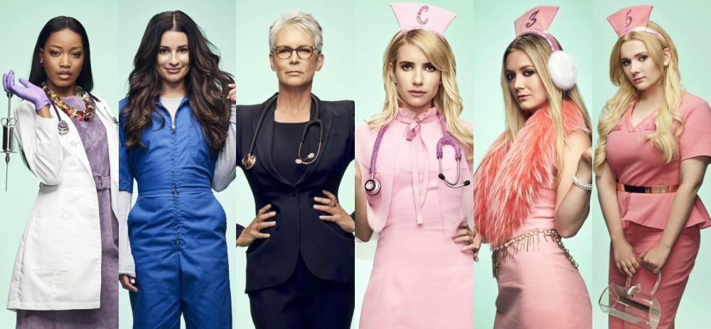 Scream Queens S2 - Cast