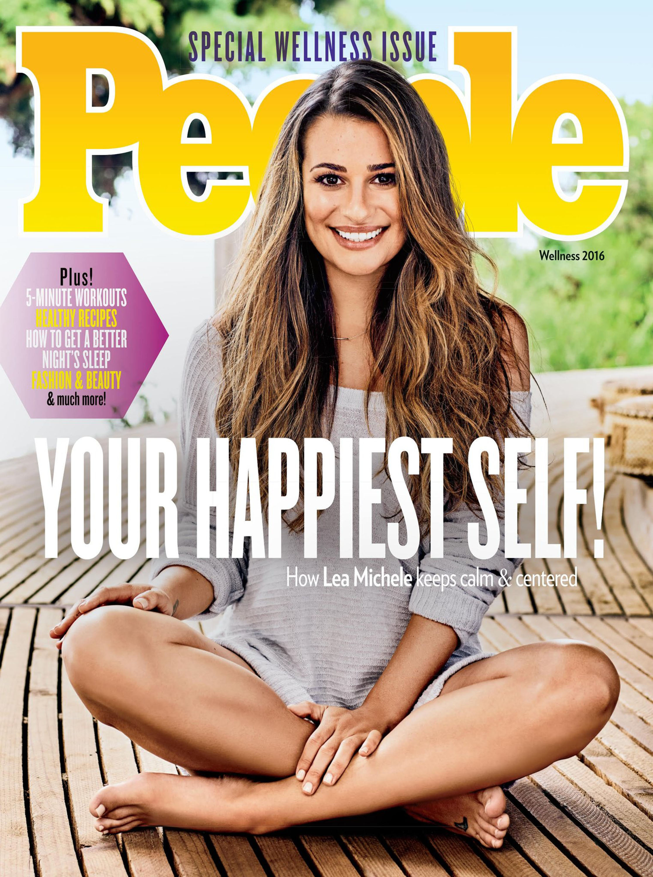 lea michele body wellness magazine special illustrated sports covers clauson hailey swimsuit eat issue shape 2000 she feel way maintains