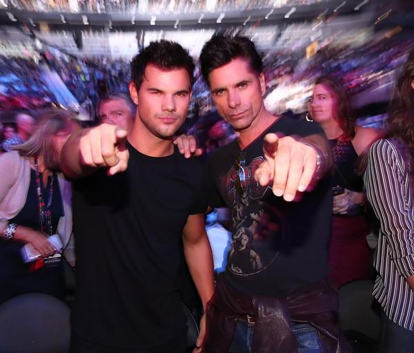 iHeartRadio Music Festival – Lea Michele, Taylor Lautner